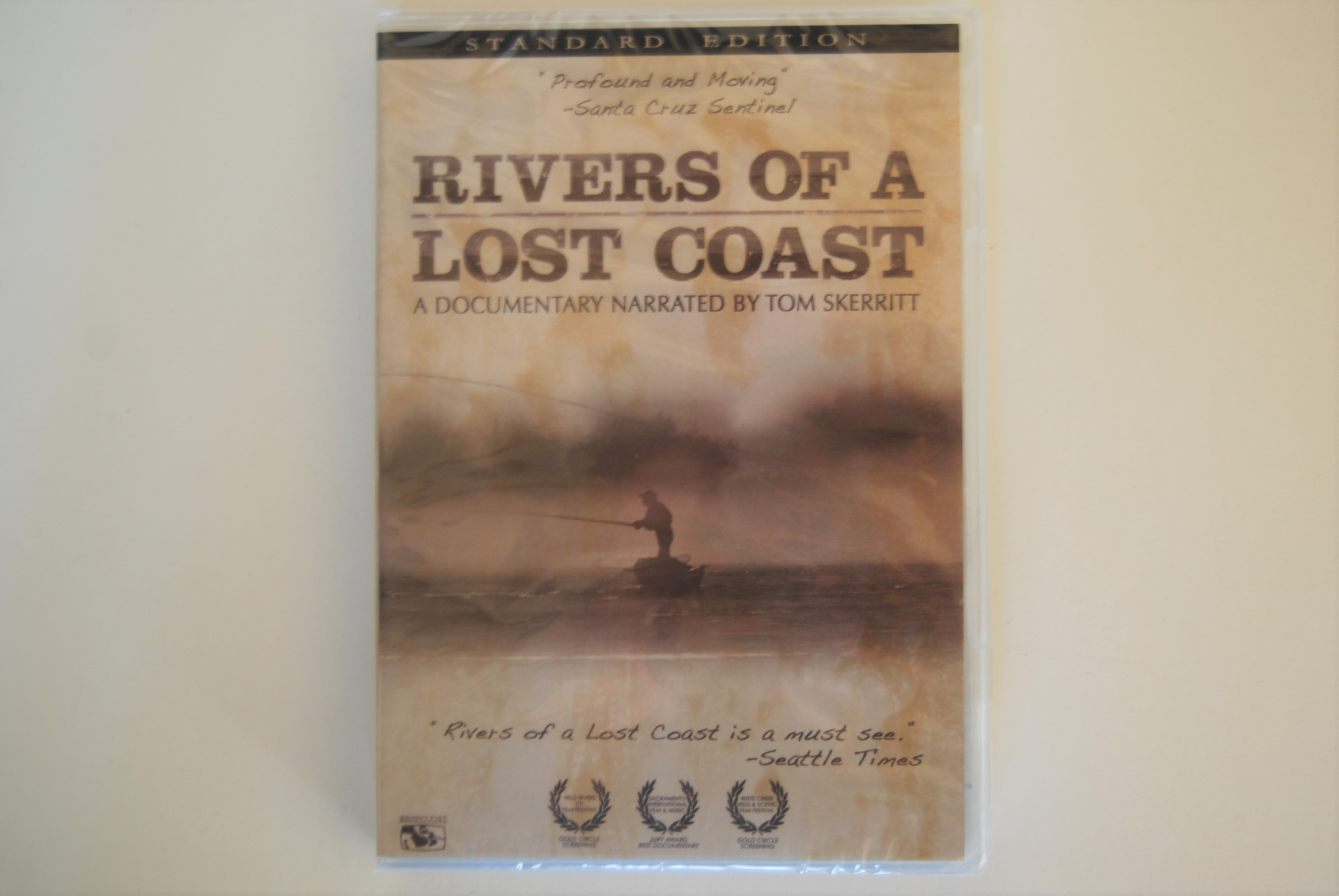 Image for DVD: RIVERS OF A LOST COAST. Produced by Justin Coupe and Palmer Taylor. Narrated by Tom Skerritt  DVD. 86 minutes.